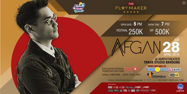 Tiket Afgan Live In Concert, Sudah Bisa DibeliSekarang